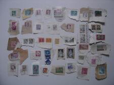 Lot de timbres OBLITERES France Monaco Canada Monde Divers