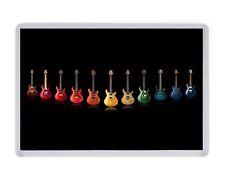 Guitares Gibson Fender aimant de réfrigérateur Anniversaire Pères Mères Jour Cadeau de Noël