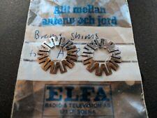 Original Bronze Shims for Studer A827 reel to reel multitrack tape machines