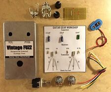 Fuzz Face DIY Pedal Kit *Guitar Gear Workshop* Germanium AC128 Transistors