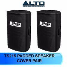 2 X ALTO TRUESONIC TS215/ TS315 SLIP ON PADDED SPEAKER COVER FOR  TS 215  TS 315