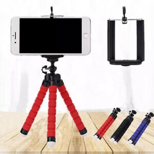 Mobile Portable tripod mini flexible sponge octopus tripod for mobile phones