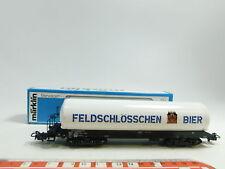 BE522-0,5# Märklin H0/AC 4632 Bierwagen Feldschlösschen SBB-CFF, sehr gut+OVP