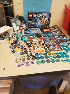 Lego Dimensions Loose Lot * Portal Figures Vehicles, Huge Lot! * SUPER CLEAN *