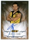 HIDEO ITAMI 2016 WWE TOPPS UNDISPUTED AUTO AUTOGRAPH CARD #61/99!