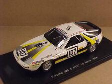 Spark 1/43 Resin Porsche 928 S, 1984 LeMans, Boutinaud Team - Facom, #107 #S3408