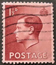 Stamp Great Britain 1936 1 1/2d King Edward Viii Used