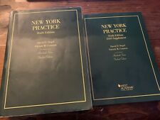 New York Practice, Sixth Edition Textbook and Supplement, West Academic