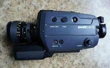 BAUER C107 XL Super 8 Schmalfilmkamera + Tasche