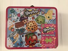 Pressman Toys Shopkins Assortment in Lunch Box Puzzle (100 Piece) new