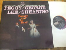 T1219 Peggy Lee / George Shearing - Beauty & The Beat! - UK 1959 LP