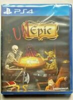 UnEpic SONY Ps4 ASIA FULL ENGLISH REGION FREE NEW SEALED PLAYSTATION 4