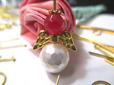 New Gold Angel Earring Jewelry Kit Making Wholesale Lot Wings Findings Supplies