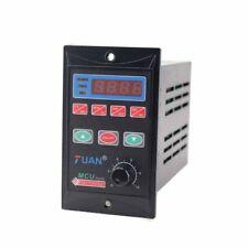 AC110/220V 750W Single Phase Frequency Converter 1HP VFD 3 Phase Output 110/220V