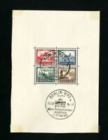 Germany Stamps # B33 First Day Cover FDC