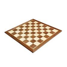 """Walnut & Maple Wooden Chess Board - 2.25"""""""