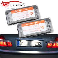 BMW 3er E46 LED Kennzeichenbeleuchtung Limo Touring 98-05 Kennzeichen Leuchte