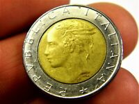 Italy 500 lira 1987 year collectible coin money for collection #229