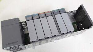 Allen Bradley  1746-IV16 / OW16 / NI4 / P2 / A10    plc cpu set SLC500