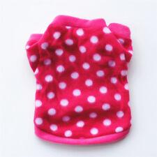 Plush Small Pet Coat Shirt Dog Puppy Outfit Pet Apparel Clothes Cat Sweater