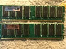 lot of 2 GB DDR1 system RAM for pc in used condition