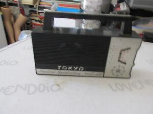 RADIO D'EPOCA A BATTERIE TOKYO ANNI 70