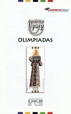 Chile 2016 Brochure America UPAEP Olympic Games - no stamp