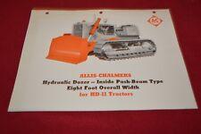 Allis Chalmers HD-11 Crawler Tractor Dealer's Brochure YABE14 ver29
