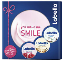 Labello Geschenkdose Lip Butter 3 verschiedene Sorten Lippenpflege