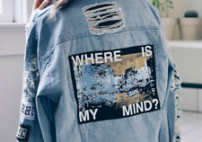 Jeans Jacket Sweatshirt Coat Outerwear Women Denim Autumn Blue Where Is My Mind