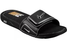Nike Men's Comfort Slide 2 Sandals - Black/Metallic Silver (415205 002) - Sz 10