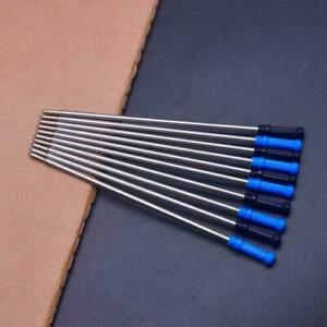 4.5 Inch Ballpoint Pen Refills for Cross Medium Fine Point Ink (5 BLACK+ 5 BLUE)