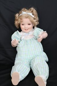 """Shirley Temple 18"""" Porcelain doll by Elke Hutchens"""