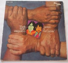 El Sello Negro Interpreta a Lennon Y McCartney LP Vinyl Rare Motown TMLP-10020