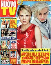 Nuovo Tv 2017 15.Morgan & Maria De Filippi,Rena Sofer-Beautiful,Alessio Boni,kkk