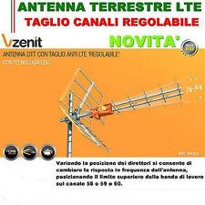ANTENNA DIGITALE TERRESTRE DVBT DTT TELEVES VHD 790 HD FILTRO LTE 4G UHF