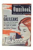 Omnibook February 1953 Best Seller Magazine Frank G. Slaughter Galileans K258