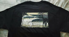 T&C Town & Country Surf Designs mens black short sleeve T-Shirt M/medium NEW!