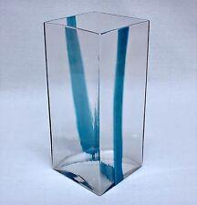 "LUDOVICO DIAZ de SANTILLANA/VENINI Vase (13-1/4""h) for PIERRE CARDIN (1969)"