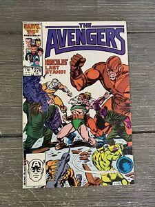 AVENGERS # 274 * MARVEL COMICS * 1986 * VF NM 9.0