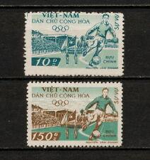 (YYAZ 512) Vietnam 1958 MNH Mich 29, 32 Scott O29, O32 Football Soccer Stadium