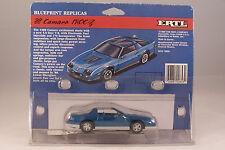 Ertl Blueprint Replicas  Blue 88 Camaro IROC-Z New Old Stock