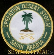 "OPERATION DESERT STORM WAR 4"" PATCH US ARMY MARINES NAVY AIR FORCE VETERAN GIFT"
