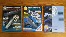 Lot of 3 Smith & Wesson Brochures / Magazines 1994 1995 1996