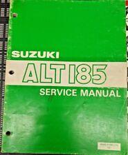 Suzuki ALT185 OEM Service Manual