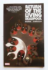 Return of the Living Deadpool NEW Marvel Graphic Novel Comic Book