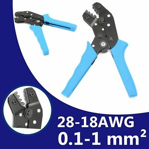 SN-28B Pin Socket Terminal Crimping Tool Ratchet  Crimper For 0.25 0.1 1.0mm2 AU