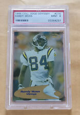 1998 Collector's Edge Odyssey #216 Randy Moss PSA 9
