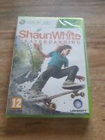 Xbox 360 Shaun White Skateboarding Genuine Factory Sealed UK PAL New