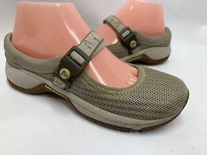 Merrell Encore Women Beige Mary Jane Adjustable Shoe 6.5 M- J66422